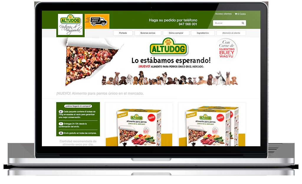 Tienda online Altudog