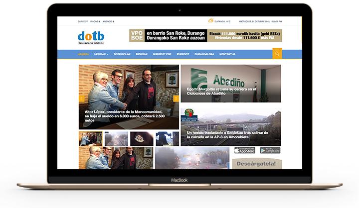 Periódico digital Dotb