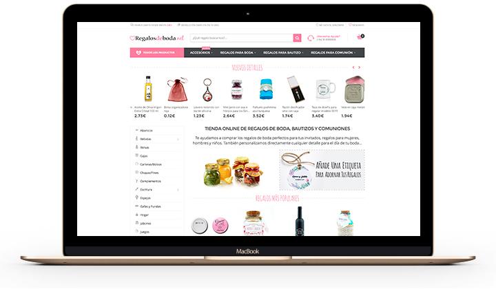 Tienda online regalos