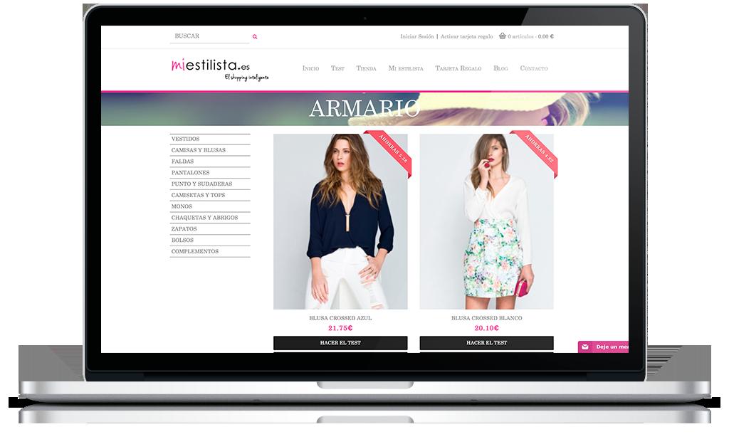 Tienda online miestilista
